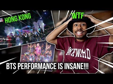 BTS_IDOL ft. Nicki Minaj (2018 MAMA in HONG KONG PERFORMANCE) REACTION