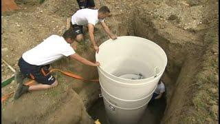 Osadenie domovej čističky odpadových vôd Aquatec VFL