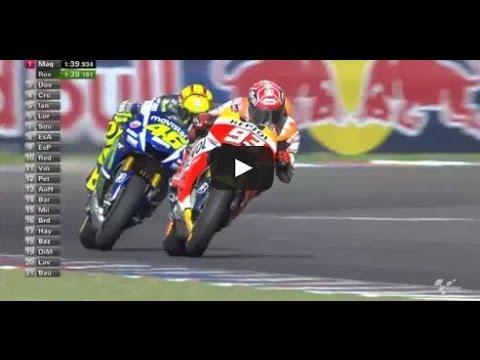 Gp Argentina  Video Hasil Motogp  Gp Argentina Valentino Rossi Vs Marc Marquez