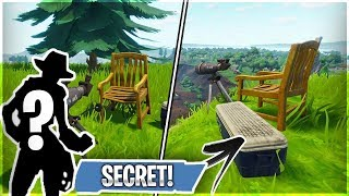 The One Thing We Missed about Season 4 / 5 STORYLINE! (Fortnite Who Is the Secret Chair Character?)