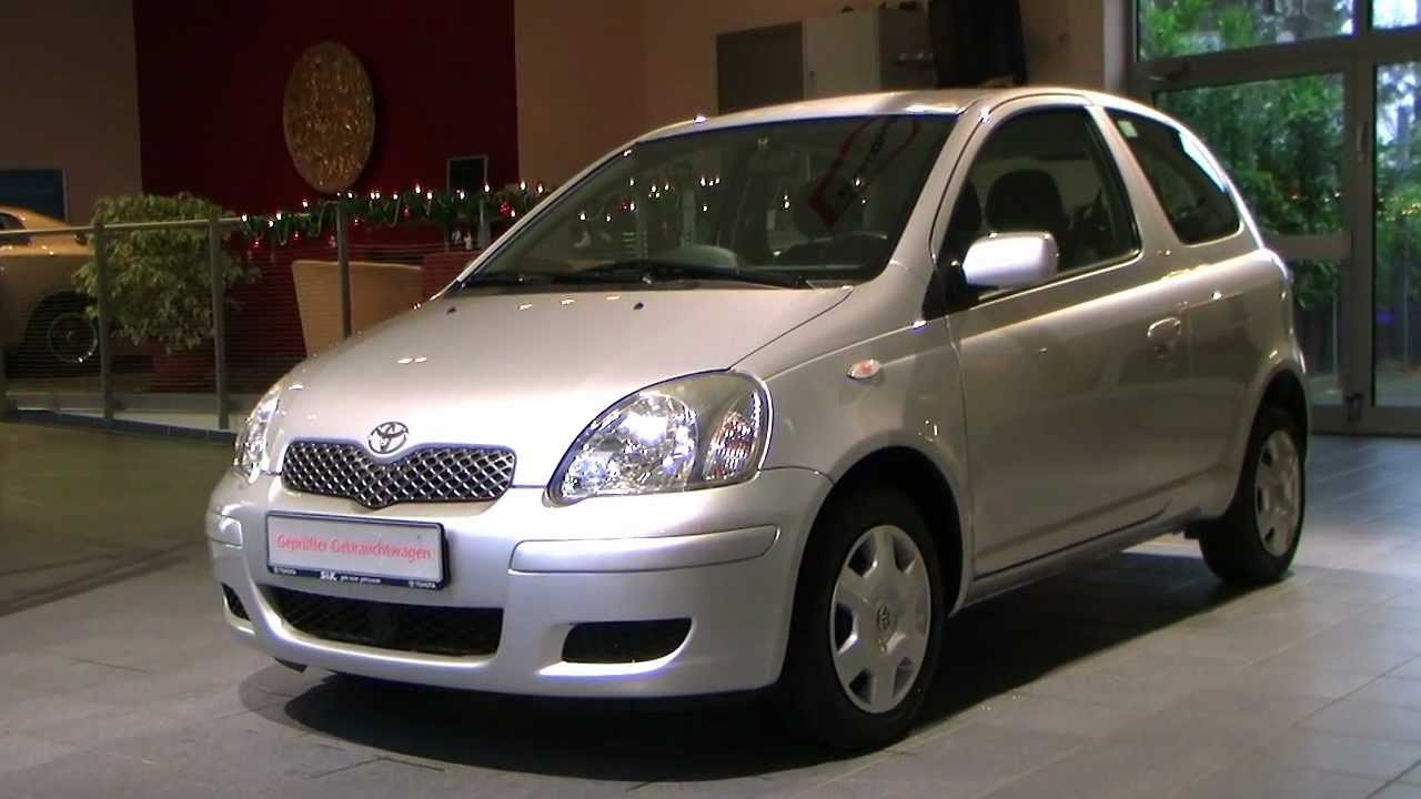 toyota yaris 1 0 sol 2004 silber metallic 388569 youtube. Black Bedroom Furniture Sets. Home Design Ideas