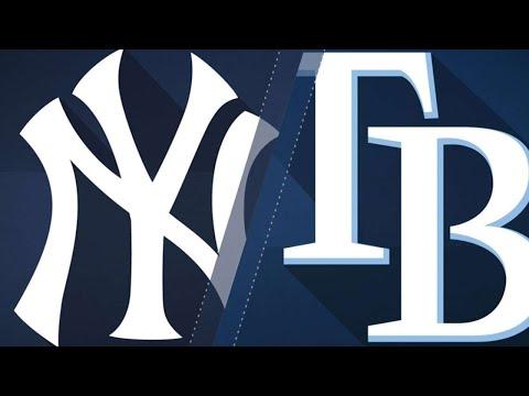 Yanks belt 4 homers in series-finale win: 9/27/18