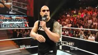 WWE Raw 2/14/11 The Rock Returns Part 2/2