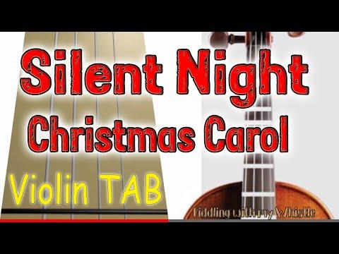 Silent Night - Christmas Carol - Violin - Play Along Tab Tutorial.mp4