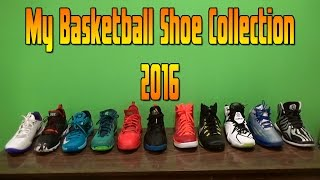 Basketball Shoe Collection 2016
