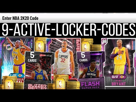 5 FREE NEW *ACTIVE* LOCKER CODES 2K20! FREE MT, TOKENS, PACKS & MORE! (NBA 2K20 MYTEAM) from YouTube · Duration:  2 minutes 22 seconds