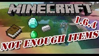 [Minecraft 1.6.4] Not Enough Items NEI Mod Installation  [DEUTSCH/GERMAN] [HD]