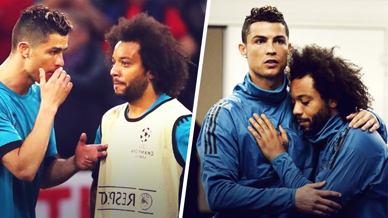 What Ronaldo Said To Marcelo Before The Champions League Final Against Liverpool Oh My Goal Youtube