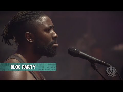 Bloc Party live @ Lollapalooza 2016