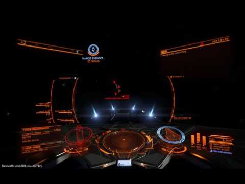 Elite Dangerous: Trader experiment (muted)