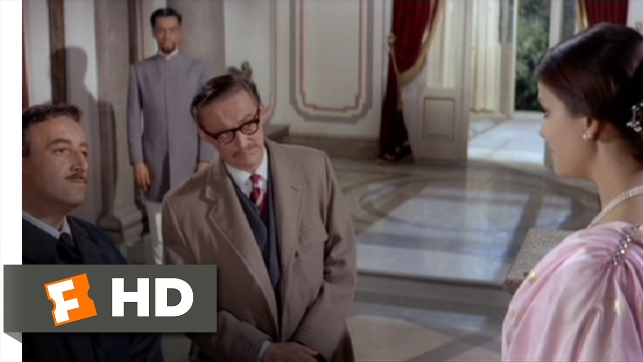 bd9ccf75312e The Pink Panther (6/10) Movie CLIP - Clouseau Visits the Princess (1963) HD  - YouTube