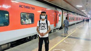 New Delhi To Kota 🚅 General Coach Train Journey In Lockdown 2021