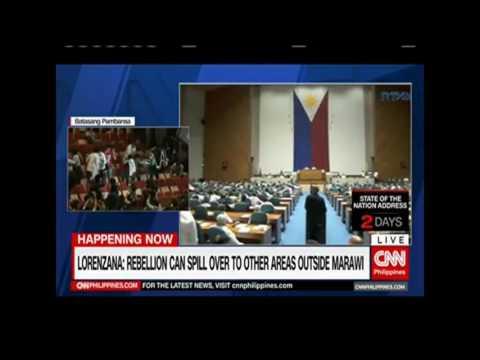 Protesters interrupt Martial Law Administrator