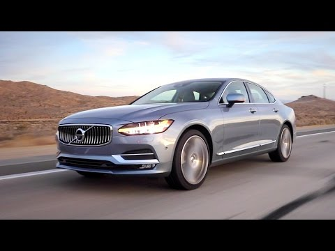 2017 Volvo S90 - Review and Road Test