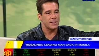 Fernando Carrillo, Rosalinda leading man, back in Manila