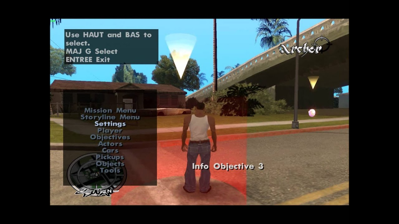 how to play gta san andreas missions