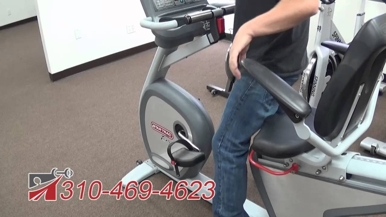 Star Trac Pro Recumbent Bike (6430 series)