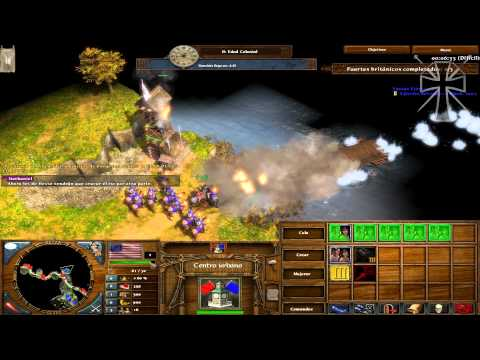 "Age of Empires III - The Warchiefs - Acto I - Misión 5: ""Saratoga"""