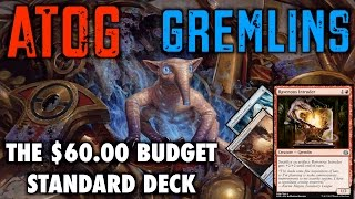 MTG - Atog Gremlins! The $60 Budget Standard Deck for Magic: The Gathering