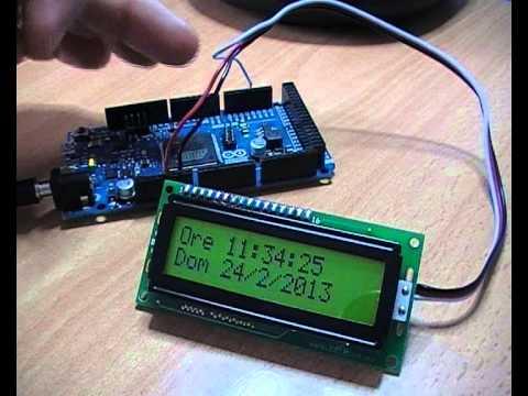 Instructables Arduino Alarm Clock Rtc Lcd