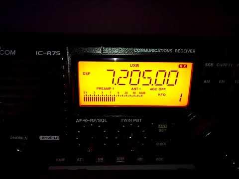 Radio Omdurman Sudan 26/9/17 @ 19:40 UTC on 7205 kHz