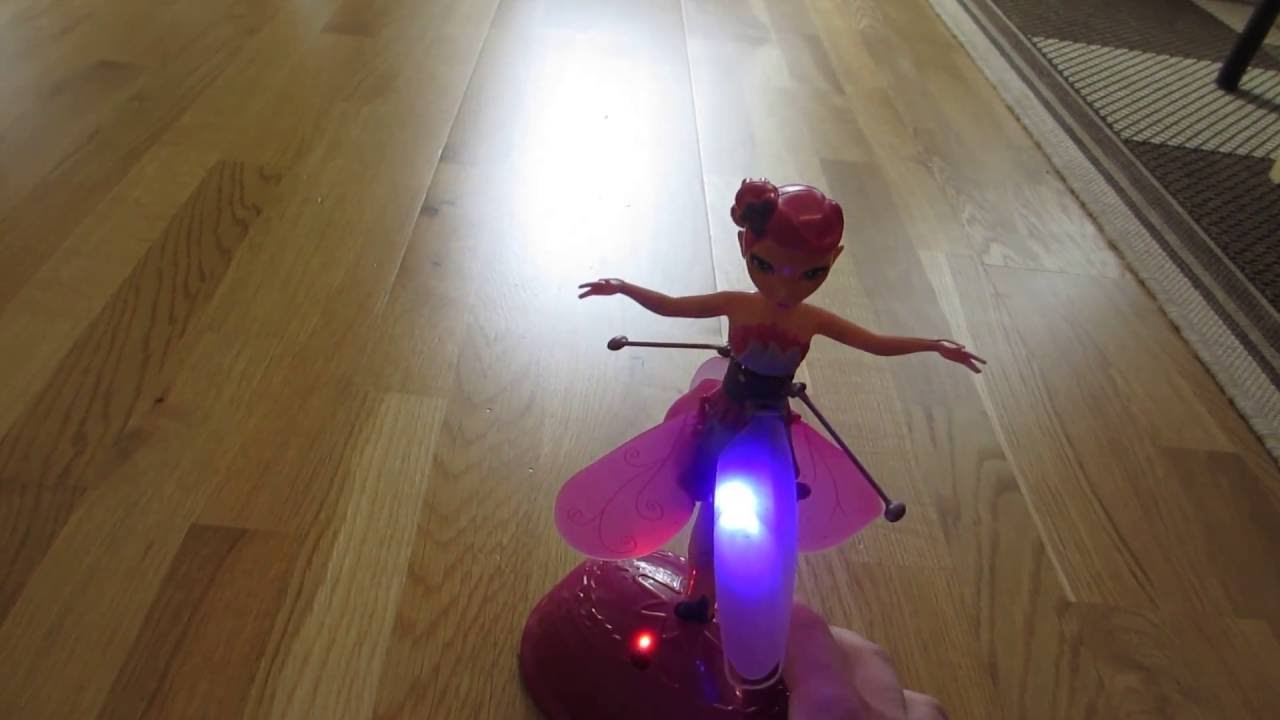 Flying Fairy Toy Beautiful Fly Fairy It Really Flies Youtube