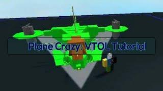 Plane Crazy! VTOL Tutorial