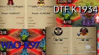 Clash of Kings K97 VS 1934 WD