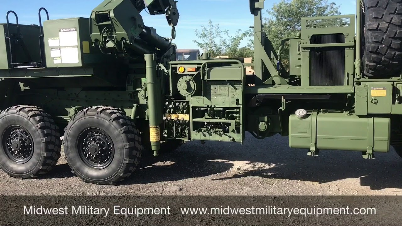 Military M1089 Stewart & Stevenson Wrecker Midwest Military Equipment