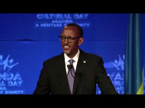 Kagame answers a question on Gay and  Lesbian (GLBT) rights