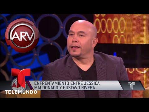 Tremenda pelea entre Jessica Maldonado y Gustavo Rivera | Al Rojo Vivo | Telemundo