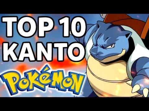Top 10 Kanto (First Generation) Pokemon