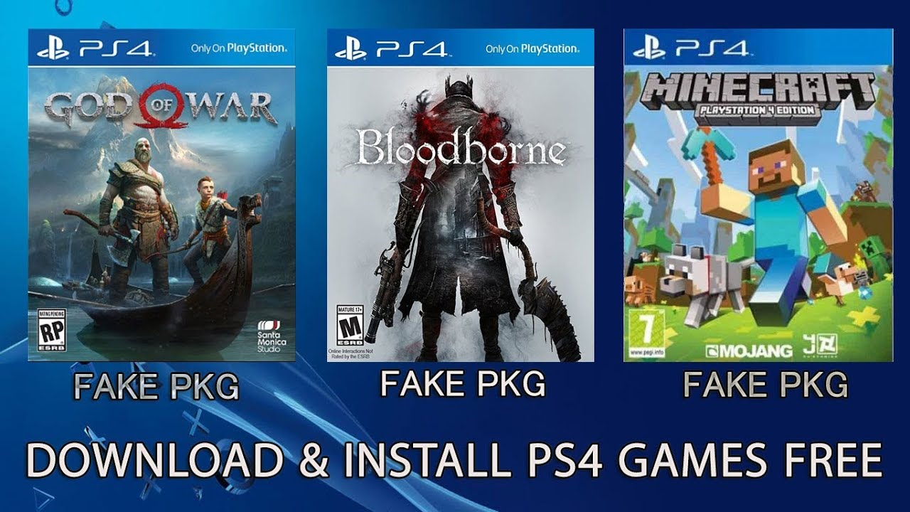 How To Download And Install Ps4 Games For Free Youtube