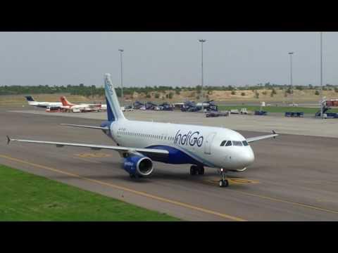 SHAMSHABAD AIRPORT || Hyderabad || Indigo flight
