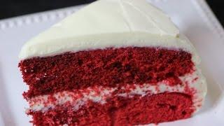 The BEST Red Velvet Cake Recipe - How to Make A Real Red Velvet Cake