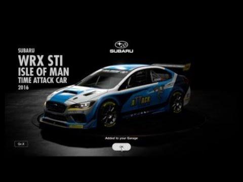 Gran Turismo™SPORT - Daily Workout - 14/3/2018 - Subaru WRX STI Isle Of Man TT Car 2016