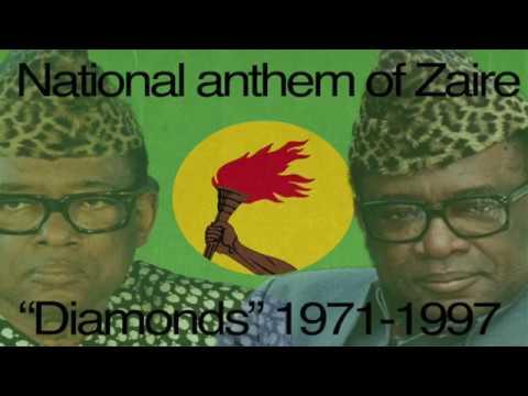 (very rare!) Original Anthem of Zaire