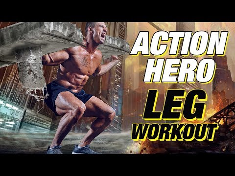 Action Hero Legs Workout (Hollywood Worthy Legs!)