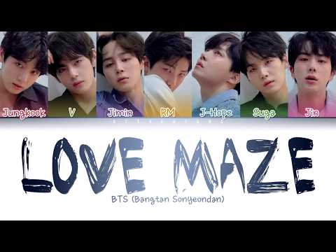 BTS () - Love Maze (Color Coded Lyrics/Han/Rom/Eng)