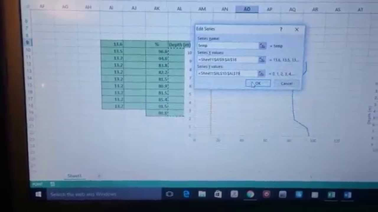 Adding secondary x axis - YouTube