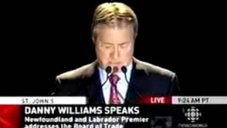 Danny Williams Slams Stephen Harper