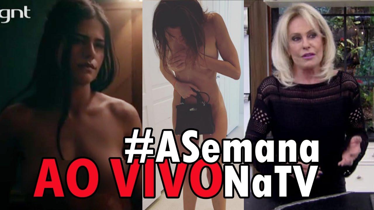 Ana Maria Braga Fotos Nua 🔴[ao vivo] filha de glÓria pires fica nu@ em sÉrie e gimenez no instagram    ana maria machista?