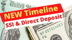 STIMULUS UPDATE! NEW PAYMENT TIMELINE FOR DIRECT DEPOSIT, CHECK, SSI
