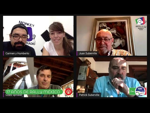 """Rally Monkey Radio #002 - """"17 AÑOS DEL RALLY MÉXICO """""""