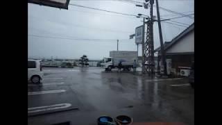 平成29年7月5日 梅雨前線による雨雲 定点撮影