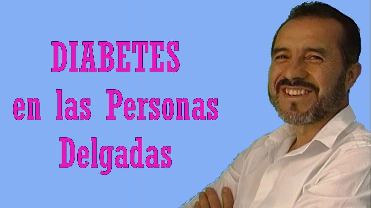 diabetes tipo 2 y personas delgadas