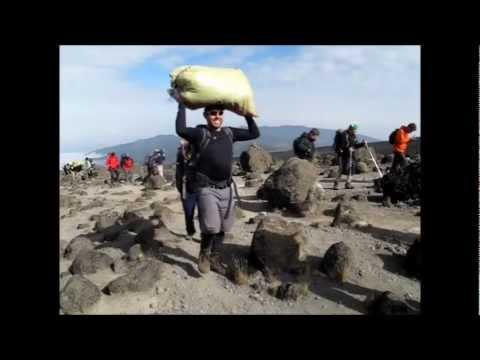 Climbing Kilimanjaro for Concern 2011
