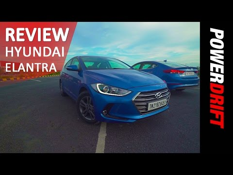 Hyundai Elantra Review PowerDrift