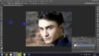 Как делать щетину в Adobe Photoshop CS6