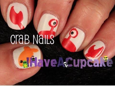 simple crab nail art - tools